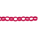 Amscan Red Paper Chain Link Garland Red