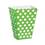 Unique Industries, Inc. Green Dot Treat Boxes Green