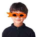 H2W Teenage Mutant Ninja Turtles Michelangelo Bandana Sunglasses Orange
