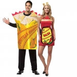 BuySeasons Adult Chips & Salsa Couples Costume