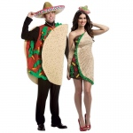 BuySeasons Taco Couples Costume For Adults One-Size