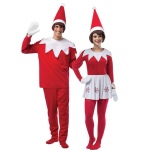 BuySeasons Adult Elf on The Shelf Couples Costume One-Size