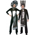 Rasta Imposta Fork and Spoon Costume Set Adult One-Size