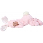Anne Geddes Bunny Newborn Costume - Infant 3-6 Months: Pink, Infant 3-6 Months, Everyday, Unisex, Infant