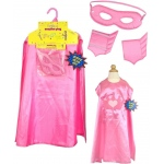 Superhero Girl Pink Cape Kit: Pink, Birthday
