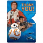 Star Wars VII Thank You Notes: Multi-colored, Birthday