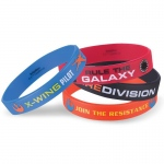 Star Wars VII Rubber Bracelets: Multi-colored, Birthday