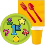 8-Bit Snack Party Pack: Multi-colored, Birthday