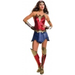 Batman v Superman: Dawn of Justice - Deluxe Batman v Superman: Dawn of Justice - Deluxe Wonder Woman Costume For Women - Small