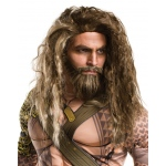 Rubie's Costumes Batman v Superman: Dawn of Justice - Aquaman Beard And Wig For Men One-Size