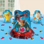 Pokemon Table Decorating Kit: Multi-colored, Birthday