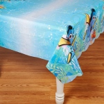 Finding Dory Plastic Tablecover: Multi-colored, Birthday