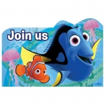 Amscan Finding Dory Invitations (8)