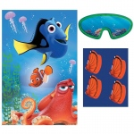 Finding Dory Party Game: Multi-colored, Birthday