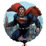 Superman Foil Balloon: Multi-colored, Birthday