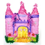 Pink Castle Pinata: Birthday