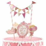Madison Park Queen for a Day Mini Cake Decorating Kit