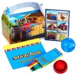Birthday Express Farm Tractor Filled Favor Box