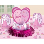 Amscan Baby Shower Girl - Shower With Love Table Decorating Kit