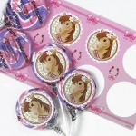 Birthday Express Pink Cowgirl Lollipop Favor Kit