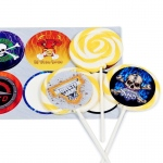 Birthday Express Monster Jam 3D Deluxe Lollipop Favor Kit