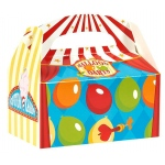 Carnival Games Empty Favor Boxes (4): Birthday