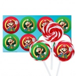 Birthday Express Super Mario Party Deluxe Lollipop Favor Kit
