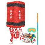 Secret Agent Pinata Kit: Multi-colored, Birthday