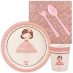 Birthday Express Ballerina Tutu Snack Party Pack