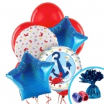 Birthday Express Anchors Aweigh Balloon Bouquet