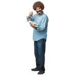 Bob Ross Adult Costume: Standard, Everyday, Adult