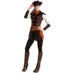 Assassin's Creed: Aveline Classic Adult Costume S: Small, Everyday, Adult