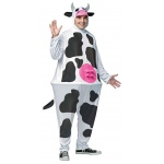 Cow Adult Hoopster Costume: Standard, Everyday, Adult