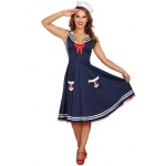 All Aboard Sailor Adult Costume - Large