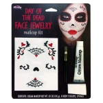Fun World Day of the Dead Jewelry Make Up Kit
