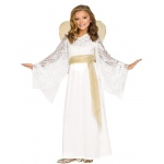 Angelic Maiden Child Costume S: Small, Everyday, Child