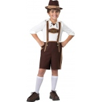 Bavarian Boy Child Costume S (6): Small, Everyday, Child