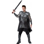 Dark Medieval Knight Adult Costume L: Large, Everyday, Adult
