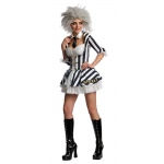 Beetlejuice Secret Wishes Adult Costume - Small