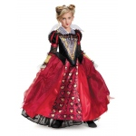 Alice Through the Looking Glass: Red Queen Deluxe Child Costume S: Small, Everyday, Child