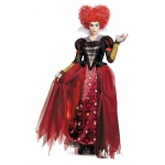 Alice Through the Looking Glass: Red Queen Deluxe Adult Costume Plus: Plus, Everyday, Adult