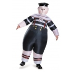 Disguise Alice Through the Looking Glass: Inflatable Tweedle Dee/Dum Adult Costume Standard