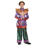 Alice in Wonderland: Through the Looking Glass Deluxe Asian Alice Child Costume - Small