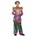 Alice in Wonderland: Through the Looking Glass Deluxe Asian Alice Child Costume - Large