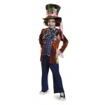 Alice in Wonderland: Through the Looking Glass Deluxe Mad Hatter Child Costume M: Medium, Everyday, Child