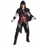 Assassin's Creed: Ezio Deluxe Adult Costume L: Large, Everyday, Adult