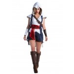 Assassin's Creed: Connor Female Adult Costume L: Large, Everyday, Adult