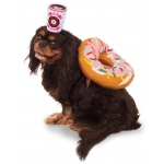 Donut and Coffee Pet Costume - Small