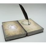 Sunstar Industries Spell Book with Feather