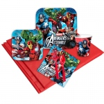 Avengers Assemble Party Pack: Multi-colored, Birthday